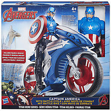 Buy Avengers Captain America and Battle Cycle Online at johnlewis.com