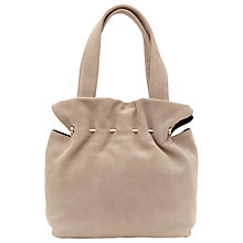 Buy Reiss Cassius Suede And Metal Tote Bag Online at johnlewis.com