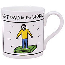 Buy McLaggan Smith 'Best Dad In The World' Mug Online at johnlewis.com