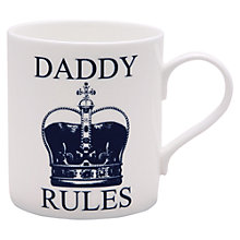 Buy McLaggan Smith 'Daddy Rules' Mug Online at johnlewis.com
