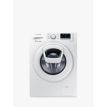 Buy Samsung AddWash WW90K5410WW/EU Washing Machine, 9kg Load, A+++ Energy Rating, 1400rpm Spin, White Online at johnlewis.com