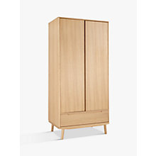 Buy House by John Lewis Bow 2 Door Wardrobe Online at johnlewis.com