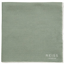 Buy Reiss Marrs Plain Handkerchief, Sage Online at johnlewis.com