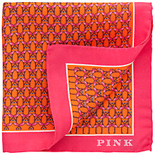 Buy Thomas Pink Flamingo Pocket Square Online at johnlewis.com