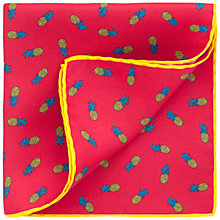 Buy Thomas Pink Pineapple Pocket Square Online at johnlewis.com