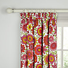 Buy Scion Bloomin' Lovely Pencil Pleat Blackout Lined Curtains Online at johnlewis.com