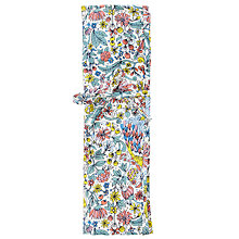 Buy John Lewis Peacock and Floral Print Knit Roll, Multi Online at johnlewis.com