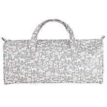 Buy John Lewis Deer Print Knit Bag, Grey Online at johnlewis.com