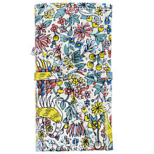 Buy John Lewis Peacock and Floral Crochet Roll and Hooks, Multi Online at johnlewis.com