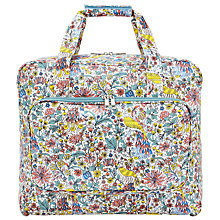 Buy John Lewis Peacock and Floral Print Sewing Machine Bag, Multi Online at johnlewis.com
