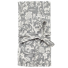 Buy John Lewis Deer Print Crochet Roll and Hooks, Grey Online at johnlewis.com