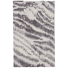 Buy west elm Diffused Zebra Printed Rug, Platinum Online at johnlewis.com
