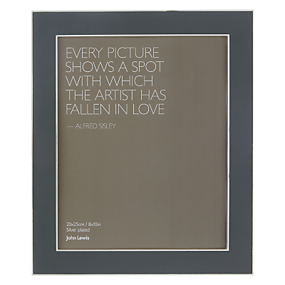 John Lewis Amy Photo Frame, 8 x 10″