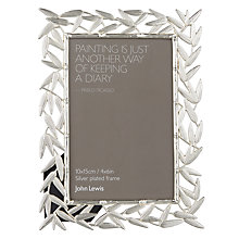 "Buy John Lewis Bamboo Leaves Photo Frame, 4 x 6"" Online at johnlewis.com"