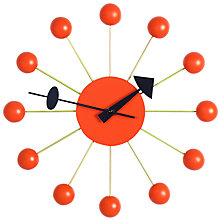 Buy Vitra Ball Clock Online at johnlewis.com