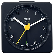 Buy Braun Analogue Travel Alarm Clock Online at johnlewis.com