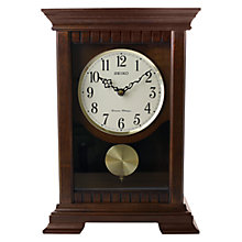 Buy Seiko Chiming Wooden Pendulum Clock, 33cm Online at johnlewis.com