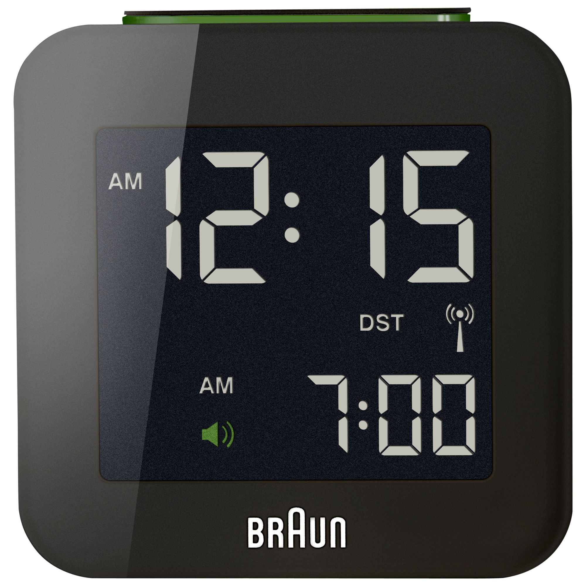 Braun Braun Radio Controlled Travel Global Alarm Clock