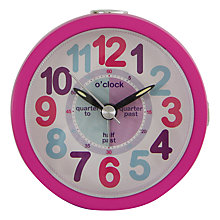 Buy London Clock Company Tell the Time Alarm Clock Online at johnlewis.com