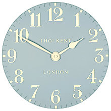 Buy Thomas Kent Cotswold Wall Clock, Dia.30cm, Blue Online at johnlewis.com
