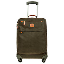 Buy Bric's Life Cabin Bag 4-Wheels 55cm Suitcase, Olive Online at johnlewis.com