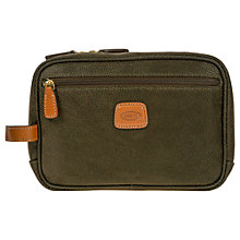 Buy Bric's Life Wash Bag, Olive Online at johnlewis.com
