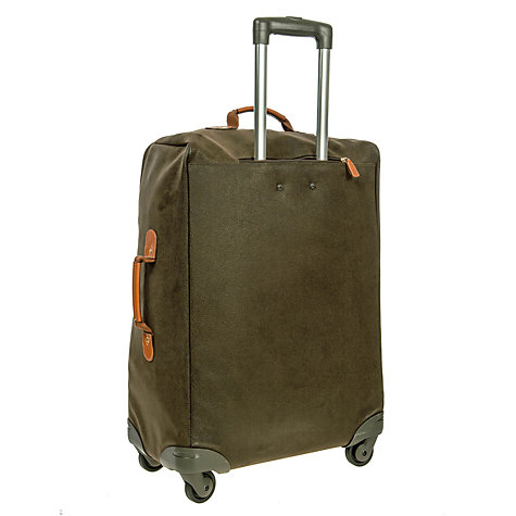 Buy Bric's Life 4-Wheel Medium Spinner Suitcase, Olive Online at johnlewis.com