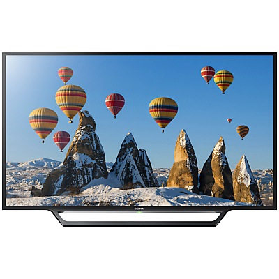 Sony Bravia 32WD603BU LED HD Ready 720p Smart TV, 32 with Freeview HD, Built-In Wi-Fi & Cable Management System