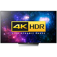"Buy Sony Bravia 55XD8599 LED HDR 4K Ultra HD Android TV, 55"" With Youview/Freeview HD, Playstation Now +  HT-XT3 Soundbase Online at johnlewis.com"
