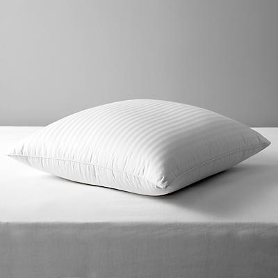 John Lewis Luxury Hungarian Goose Down Square Pillow, Soft/Medium