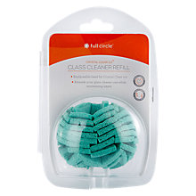 Buy Full Circle Glass Cleaner Brush Replacement Head Online at johnlewis.com