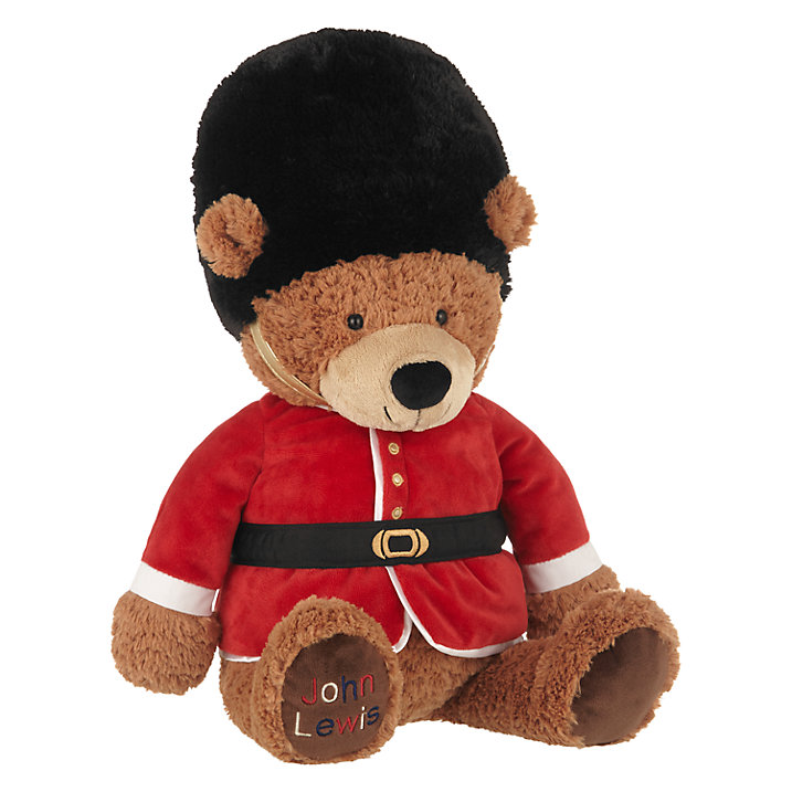 John Lewis Queen's Guard Bear, Large (£25)