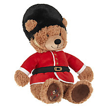 Buy John Lewis Tourism Queens Guard Bear, Medium Online at johnlewis.com