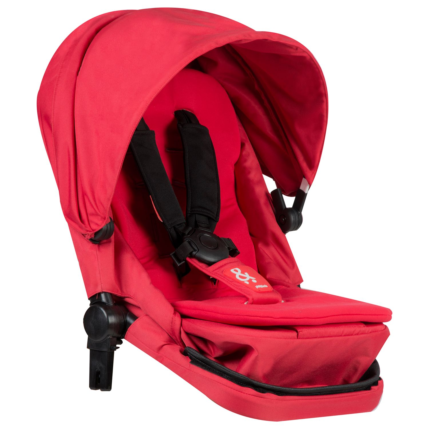 Phil & Teds Phil & Teds Voyager Pushchair Double Kit, Red