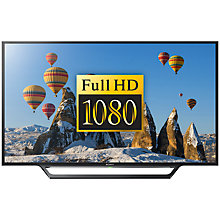 "Buy Sony Bravia 40WD653BU LED HD 1080p Smart TV, 40"" with Freeview HD, Built-In Wi-Fi +  HT-CT390 Sound Bar & Subwoofer Online at johnlewis.com"