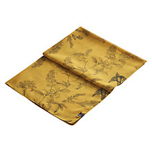 Buy Joules Wensley Floral Print Scarf, Gold Online at johnlewis.com