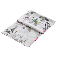 Buy Joules Wensley Birdberry Scarf, Silver Online at johnlewis.com