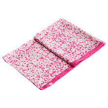 Buy Joules Wensley Ditsy Print Scarf, True Pink/White Online at johnlewis.com