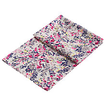 Buy Joules Julianne Scatter Print Wool Scarf, Silver/Multi Online at johnlewis.com