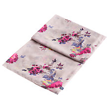 Buy Joules Harmony Floral Scarf, Champagne/Multi Online at johnlewis.com