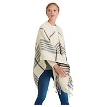 Buy Joules Innis Check Print Wrap Online at johnlewis.com