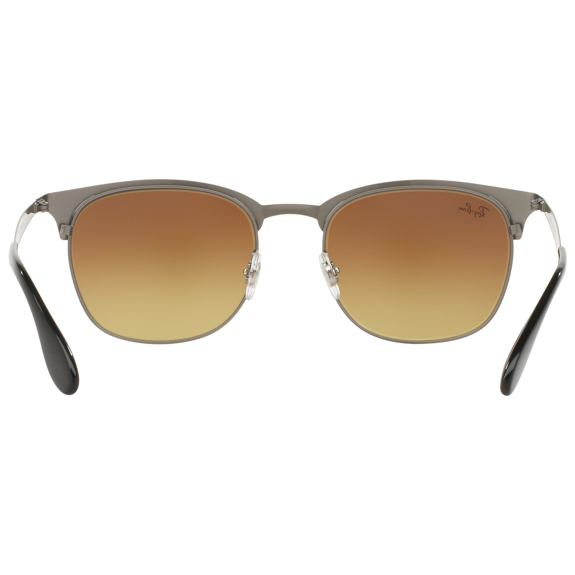 Half Frame Square Glasses : Buy Ray-Ban RB3538 Half Frame Square Sunglasses John Lewis