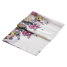 Buy Joules Wensley Floral Print Scarf, Cream/Multi Online at johnlewis.com