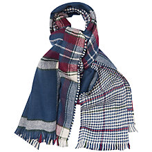 Buy Barbour Reverse Plaid Wrap, Multi Online at johnlewis.com
