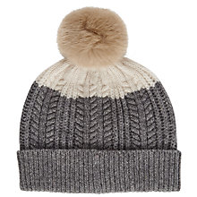 Buy Joules Bobble Lambswool Blend Hat Online at johnlewis.com