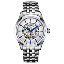 Buy Rotary Men's Mécanique Skeleton Bracelet Strap Watch Online at johnlewis.com
