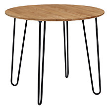 Buy John Lewis Calia 90cm Round Dining Table Online at johnlewis.com