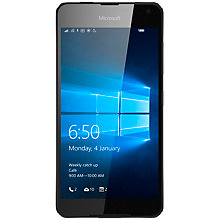 "Buy Microsoft Lumia 650 Smartphone, Windows Mobile, 5.0"", 4G LTE, Sim Free, 16GB Online at johnlewis.com"