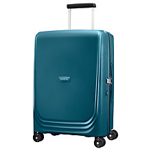 Buy Samsonite Optic 4-Wheel Spinner 55cm Cabin Suitcase Online at johnlewis.com