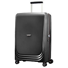 Buy Samsonite Optic 69cm 4-Wheel Spinner Suitcase Online at johnlewis.com